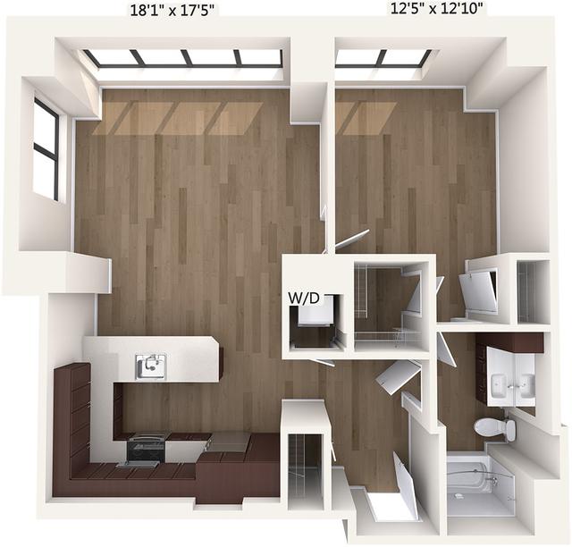 1 Bedroom, Downtown Boston Rental in Boston, MA for $2,615 - Photo 2