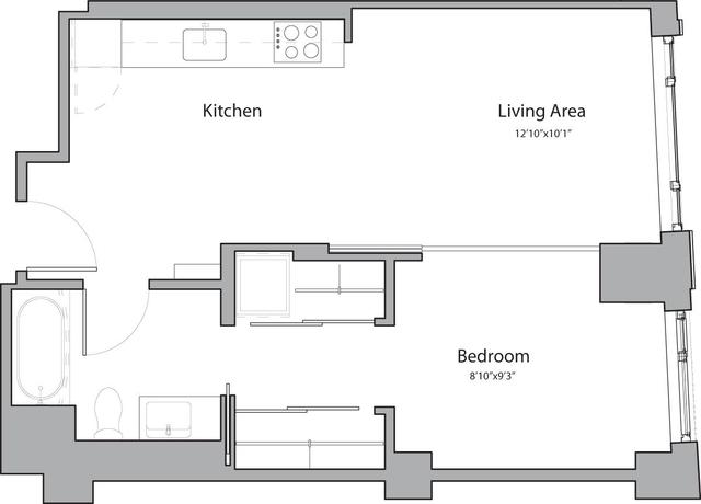 1 Bedroom, Shawmut Rental in Boston, MA for $2,535 - Photo 1