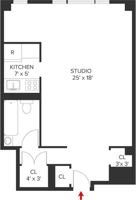 Studio, Carnegie Hill Rental in NYC for $2,250 - Photo 1