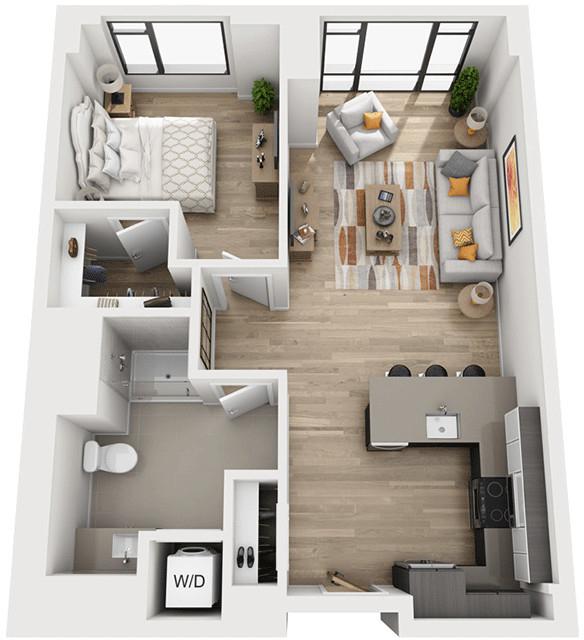 1 Bedroom, Shawmut Rental in Boston, MA for $3,374 - Photo 1