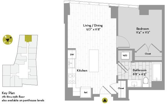 1 Bedroom, St. Marks Rental in Boston, MA for $3,192 - Photo 1