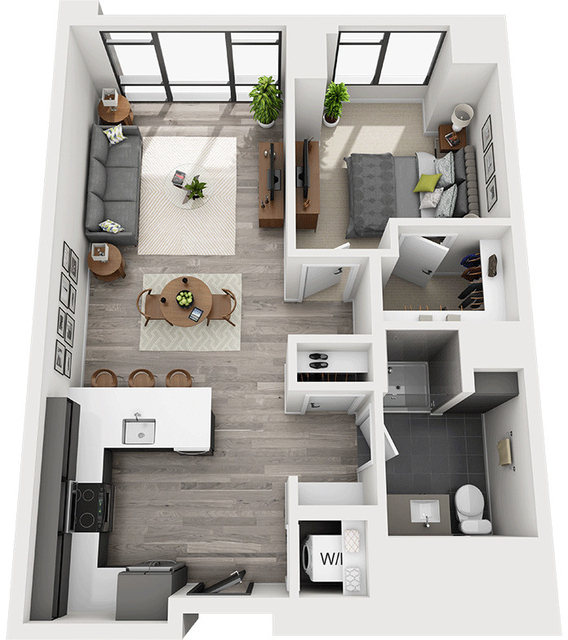 1 Bedroom, Shawmut Rental in Boston, MA for $3,414 - Photo 1