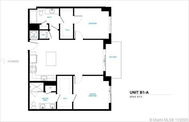 2 Bedrooms, Sportsmans Park Rental in Miami, FL for $2,440 - Photo 1