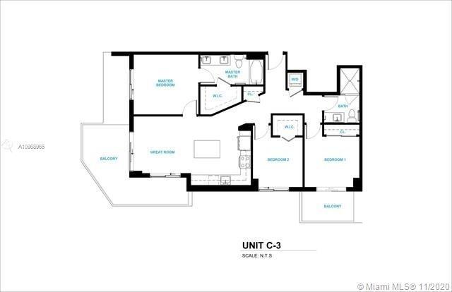 3 Bedrooms, Sportsmans Park Rental in Miami, FL for $3,025 - Photo 1