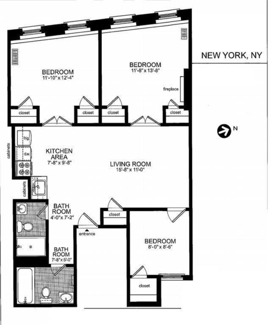 3 Bedrooms, Little Italy Rental in NYC for $3,295 - Photo 1