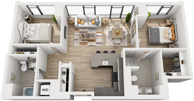 2 Bedrooms, Shawmut Rental in Boston, MA for $3,519 - Photo 1