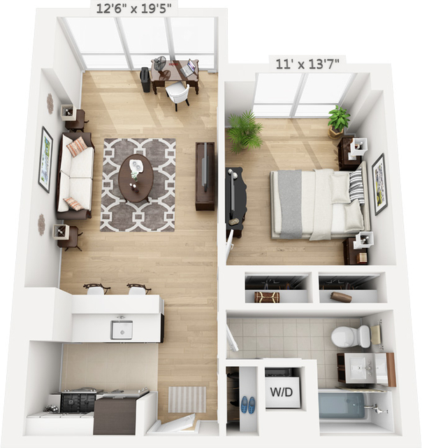 1 Bedroom, Manhattan Valley Rental in NYC for $2,732 - Photo 1
