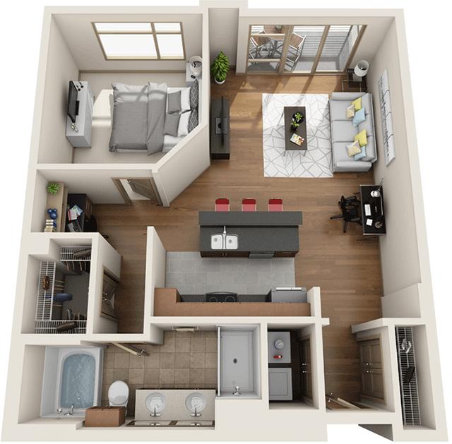 1 Bedroom, University City Rental in Philadelphia, PA for $2,762 - Photo 1