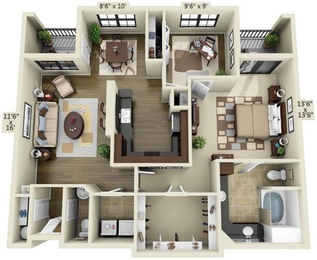1 Bedroom, Uptown Rental in Dallas for $1,744 - Photo 1