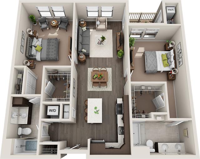 2 Bedrooms, Upper Merion Rental in Philadelphia, PA for $2,034 - Photo 1