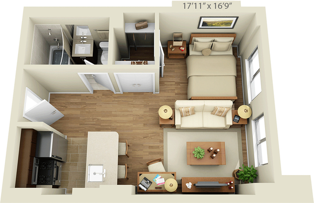 Studio, Chelsea Rental in NYC for $2,156 - Photo 1