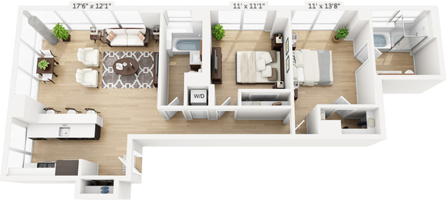 2 Bedrooms, Manhattan Valley Rental in NYC for $4,093 - Photo 1