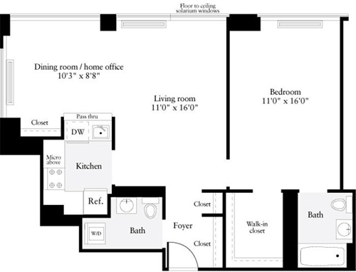 1 Bedroom, Murray Hill Rental in NYC for $4,892 - Photo 1