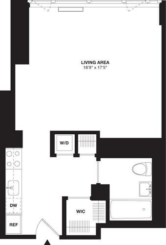 Studio, Chelsea Rental in NYC for $4,175 - Photo 1
