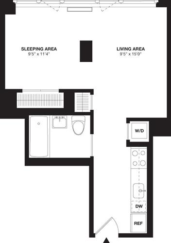 Studio, Chelsea Rental in NYC for $3,916 - Photo 1