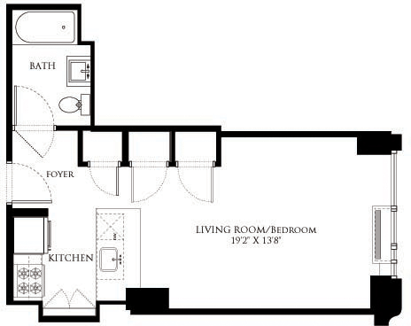 Studio, Chelsea Rental in NYC for $3,014 - Photo 1