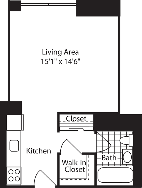 Studio, West Village Rental in NYC for $2,925 - Photo 1
