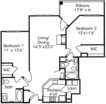 2 Bedrooms, Hudson Rental in NYC for $3,369 - Photo 1