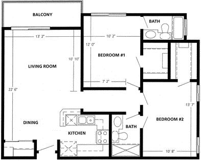 2 Bedrooms, Playa del Rey Rental in Los Angeles, CA for $2,974 - Photo 1