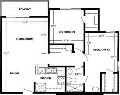 2 Bedrooms, Playa del Rey Rental in Los Angeles, CA for $2,912 - Photo 1
