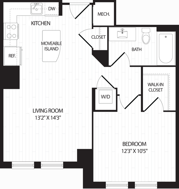 1 Bedroom, Braddock Road Metro Rental in Washington, DC for $1,830 - Photo 1