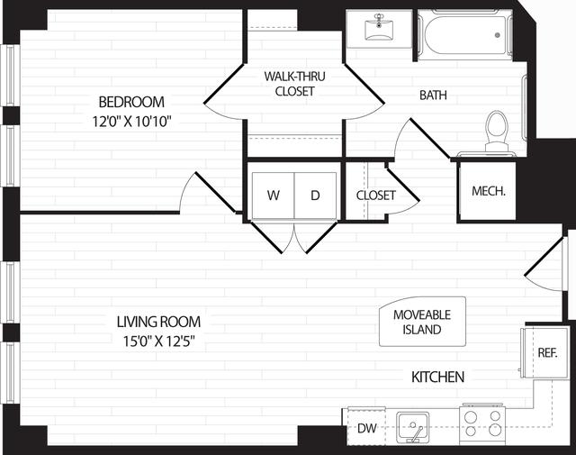 1 Bedroom, Braddock Road Metro Rental in Washington, DC for $2,025 - Photo 1