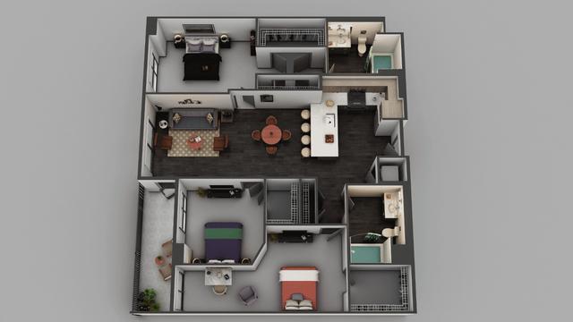 3 Bedrooms, Little Tokyo Rental in Los Angeles, CA for $3,673 - Photo 1
