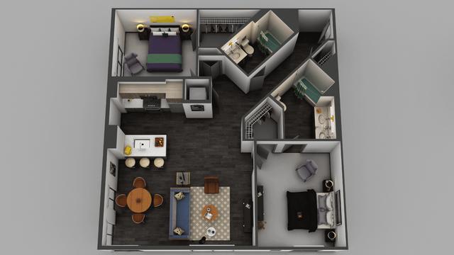 2 Bedrooms, Little Tokyo Rental in Los Angeles, CA for $2,950 - Photo 1