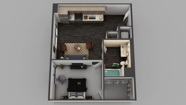 1 Bedroom, Little Tokyo Rental in Los Angeles, CA for $2,550 - Photo 1