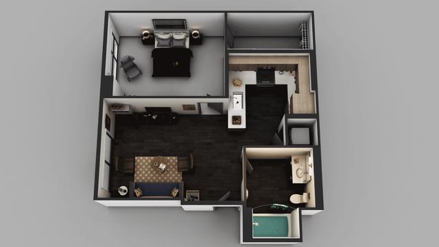 1 Bedroom, Little Tokyo Rental in Los Angeles, CA for $2,260 - Photo 1