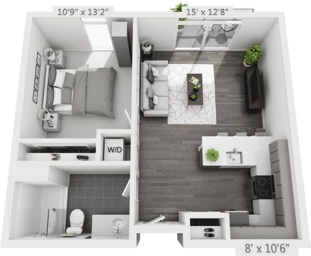 1 Bedroom, Golden Triangle Rental in Denver, CO for $2,120 - Photo 1