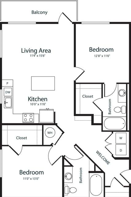 2 Bedrooms, Uptown Rental in Denver, CO for $2,640 - Photo 1
