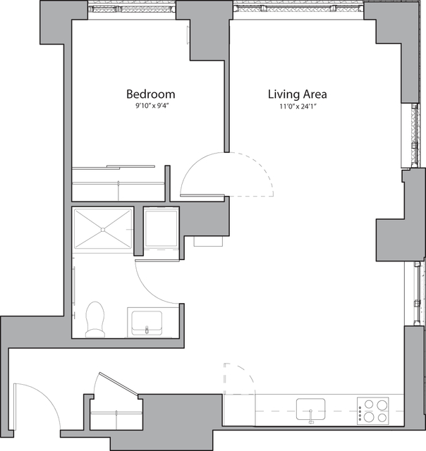 1 Bedroom, Shawmut Rental in Boston, MA for $3,010 - Photo 1