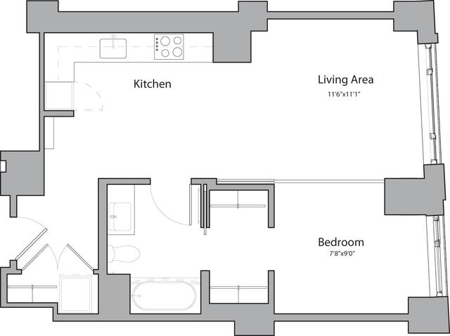 1 Bedroom, Shawmut Rental in Boston, MA for $3,365 - Photo 1