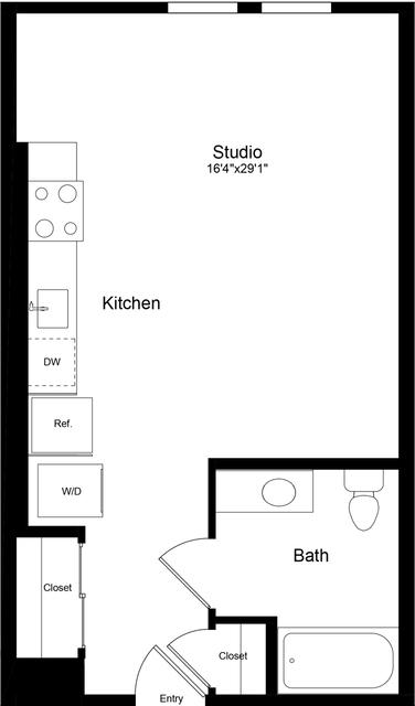 Studio, China Basin Rental in San Francisco Bay Area, CA for $2,650 - Photo 1