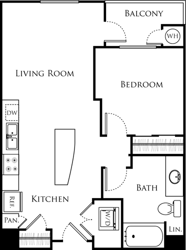1 Bedroom, Chinatown Rental in Los Angeles, CA for $2,417 - Photo 1