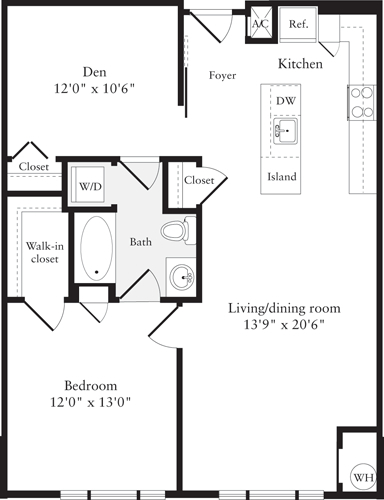 1 Bedroom, Aurora Highlands Rental in Washington, DC for $2,132 - Photo 1