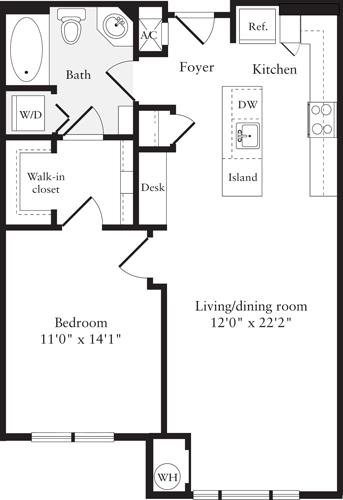 1 Bedroom, Aurora Highlands Rental in Washington, DC for $1,865 - Photo 1