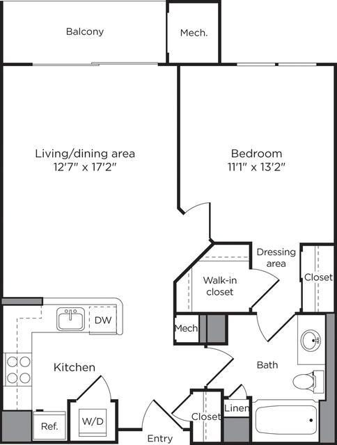 1 Bedroom, Lyon Village Rental in Washington, DC for $2,429 - Photo 1