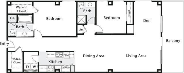 2 Bedrooms, Marina del Rey Rental in Los Angeles, CA for $4,545 - Photo 1