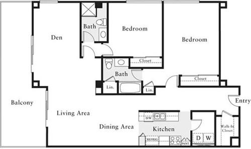 2 Bedrooms, Marina del Rey Rental in Los Angeles, CA for $4,900 - Photo 1