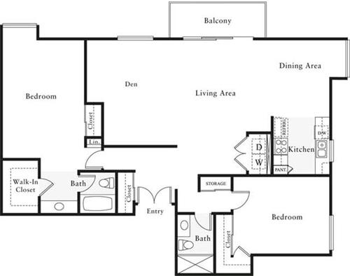 2 Bedrooms, Marina del Rey Rental in Los Angeles, CA for $3,725 - Photo 1