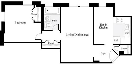 1 Bedroom, North Cleveland Park Rental in Washington, DC for $1,822 - Photo 1