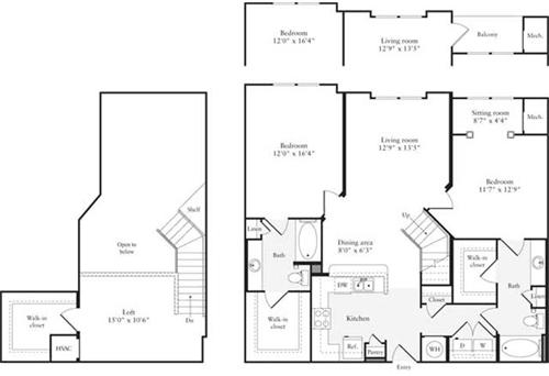 2 Bedrooms, East Rockville Rental in Washington, DC for $2,637 - Photo 1
