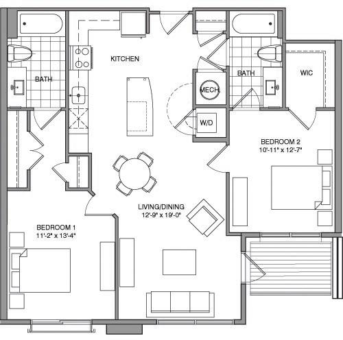 2 Bedrooms, Lyon Park Rental in Washington, DC for $2,441 - Photo 1