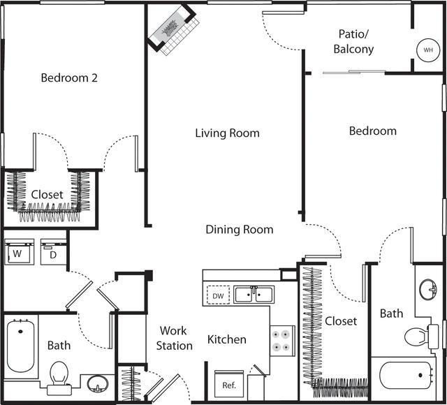2 Bedrooms, Marina del Rey Rental in Los Angeles, CA for $3,545 - Photo 1