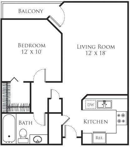 1 Bedroom, Sherman Oaks Rental in Los Angeles, CA for $2,206 - Photo 1
