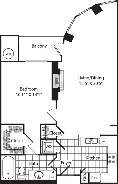 1 Bedroom, Aurora Highlands Rental in Washington, DC for $2,256 - Photo 1