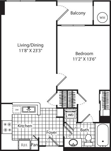 1 Bedroom, Aurora Highlands Rental in Washington, DC for $2,320 - Photo 1