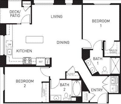 2 Bedrooms, Downtown Pasadena Rental in Los Angeles, CA for $3,450 - Photo 1